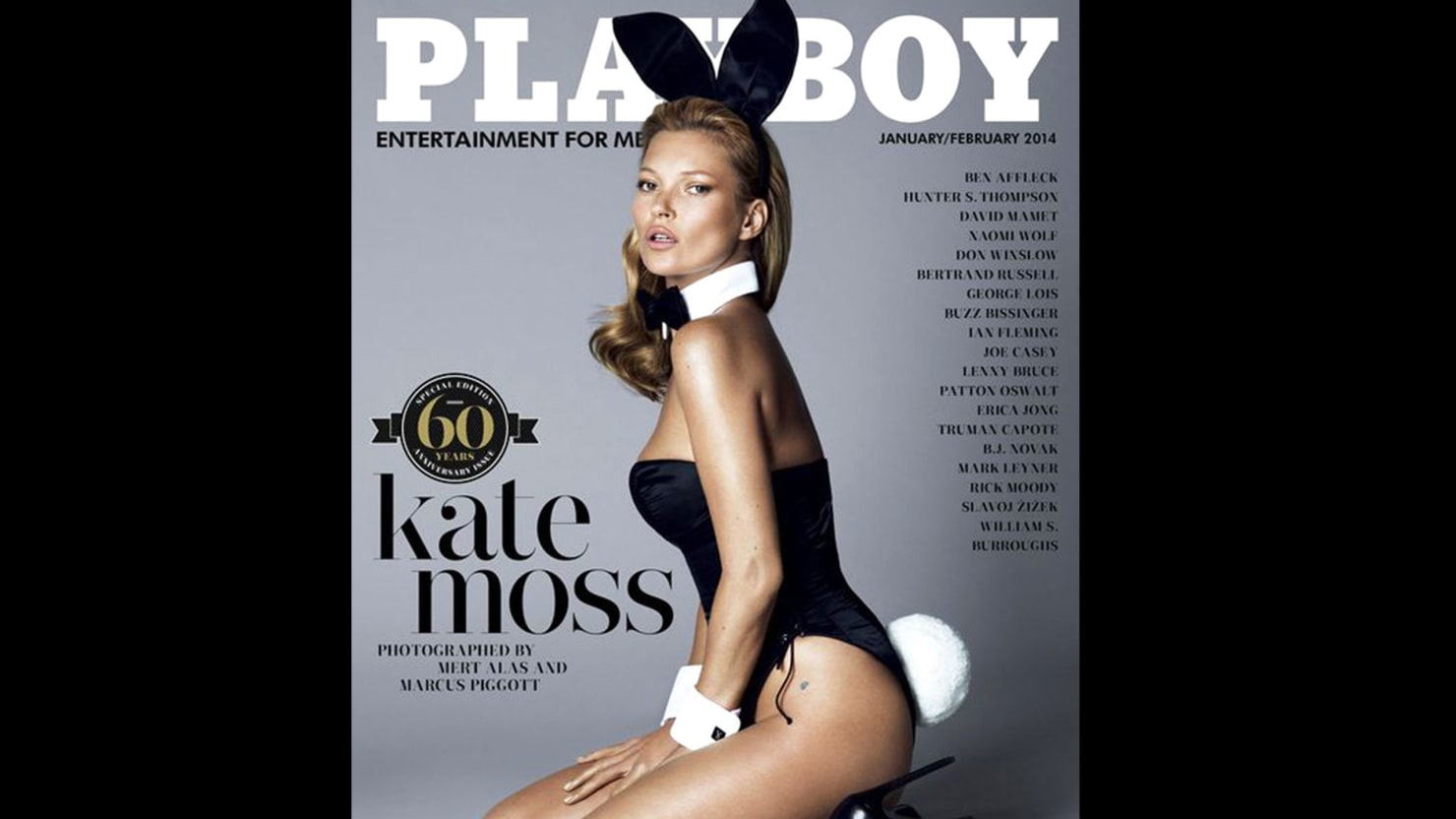 Not So Fast, 'Playboy': the Kate Moss Cover May Not Be a Big Turning Point