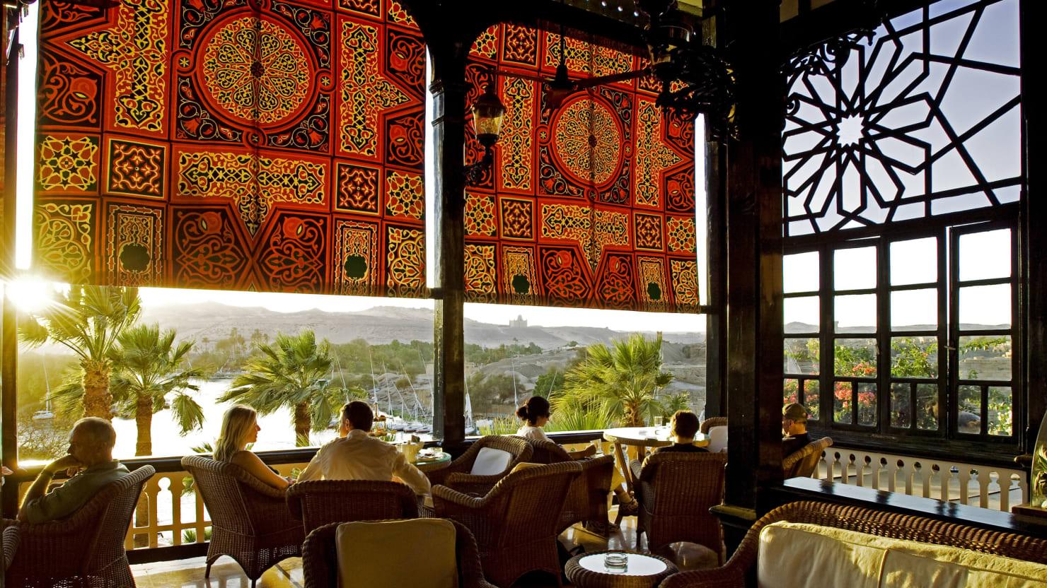 Winston Churchill's Egyptian Getaway: The Old Cataract Hotel