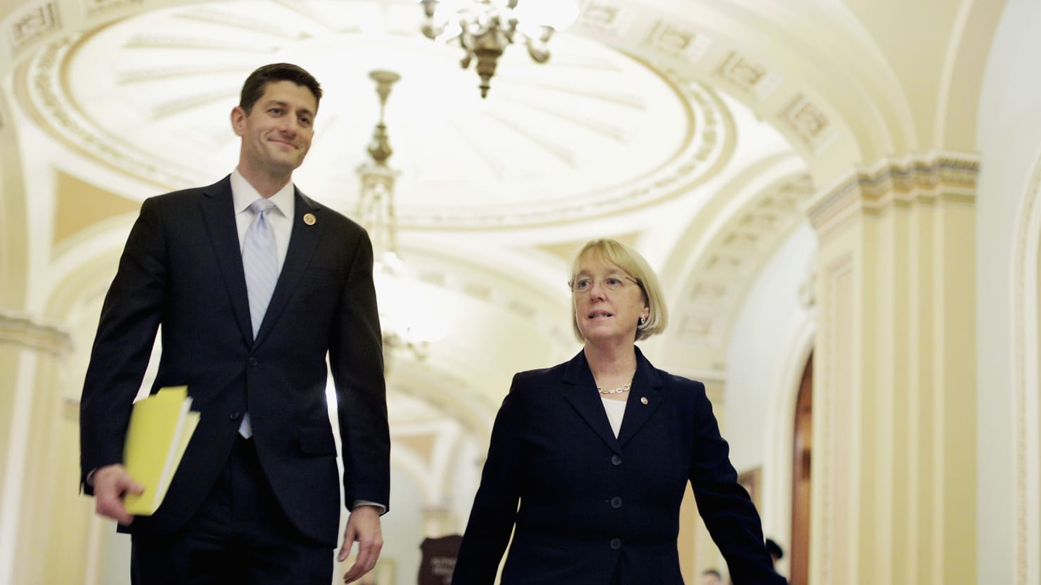 Thanks, Patty Murray and Paul Ryan. You Did Your Job. Finally.