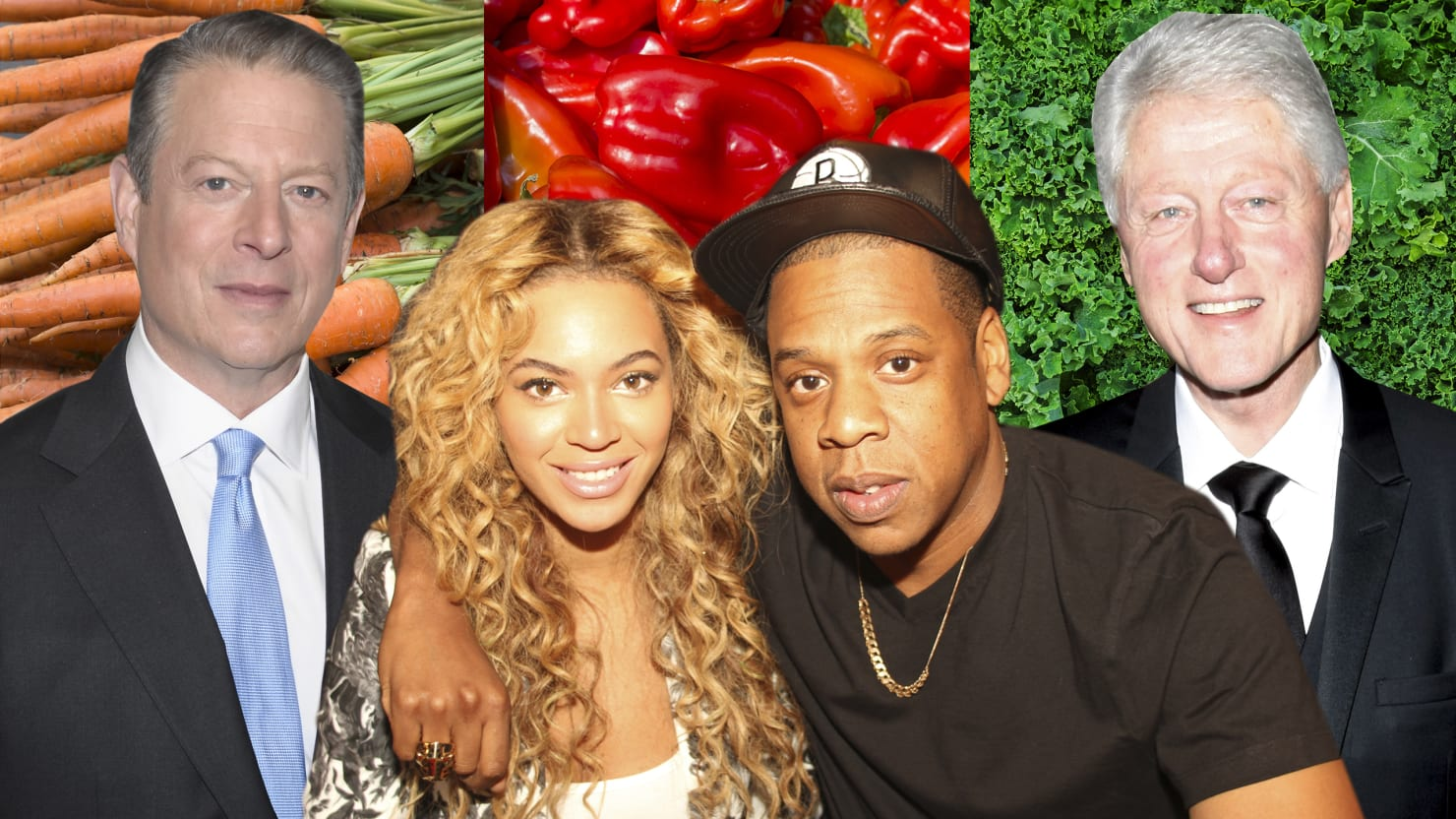 From Jay Z and Al Gore to Mike Tyson, Seven Celebrity Vegans (Photos)