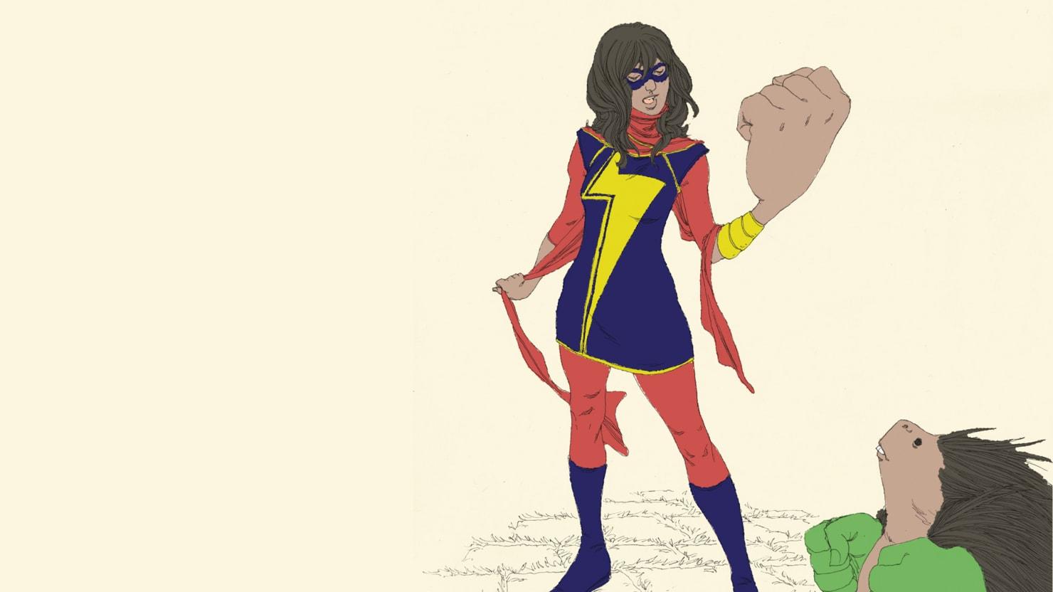 Meet the Muslim Ms. Marvel: Kamala Khan's Fight Against Stereotypes