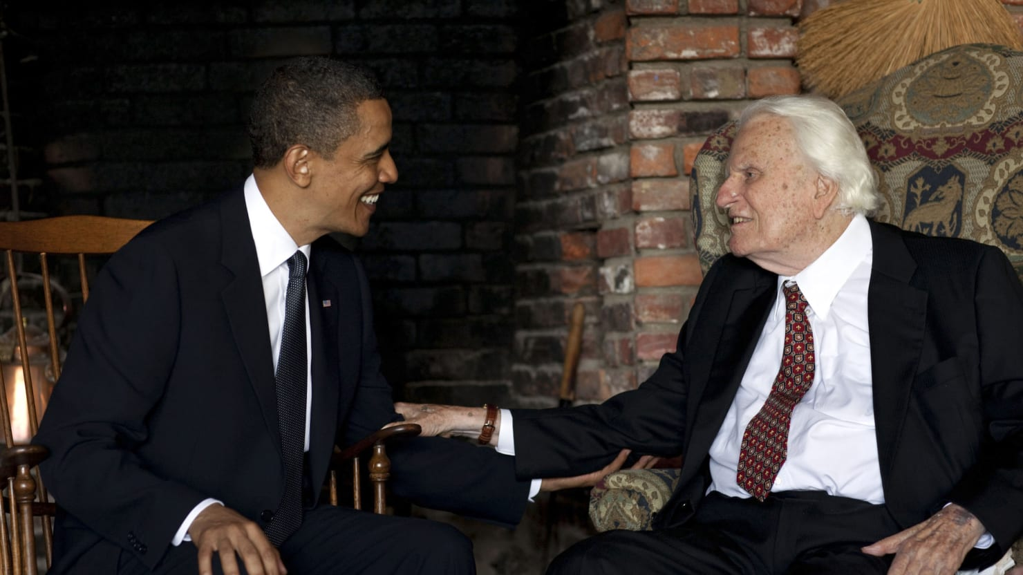 When Obama Visited Billy Graham Each Man Prayed For The Other