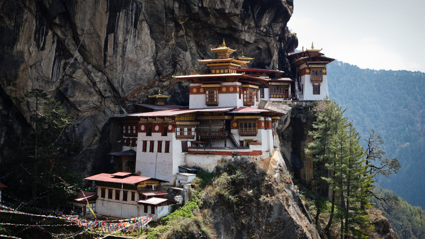 The Tiger's Nest May Make You Start Planning a Trip to Bhutan