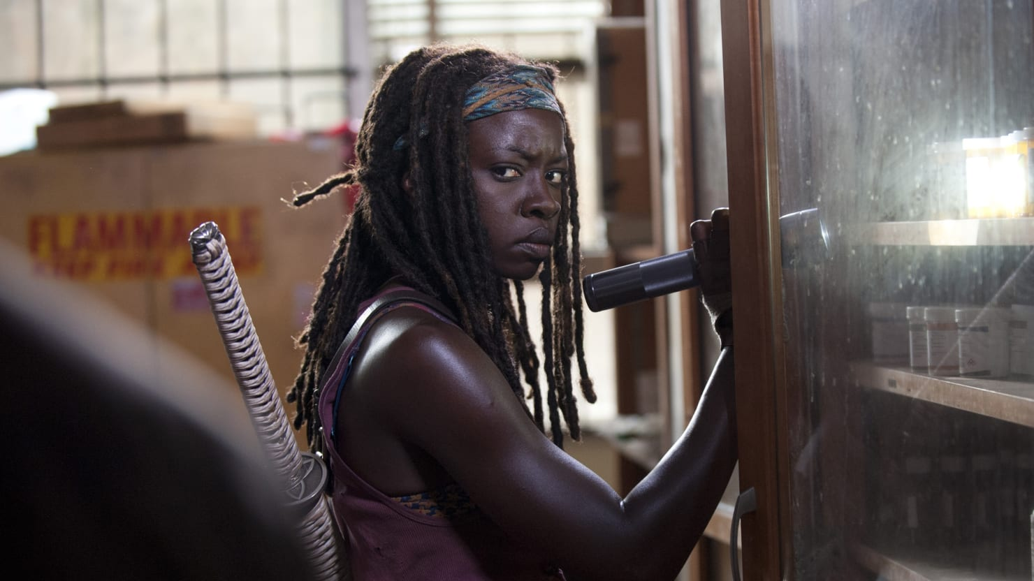 Danai Gurira, Who Plays Michonne, Says 'The Walking Dead