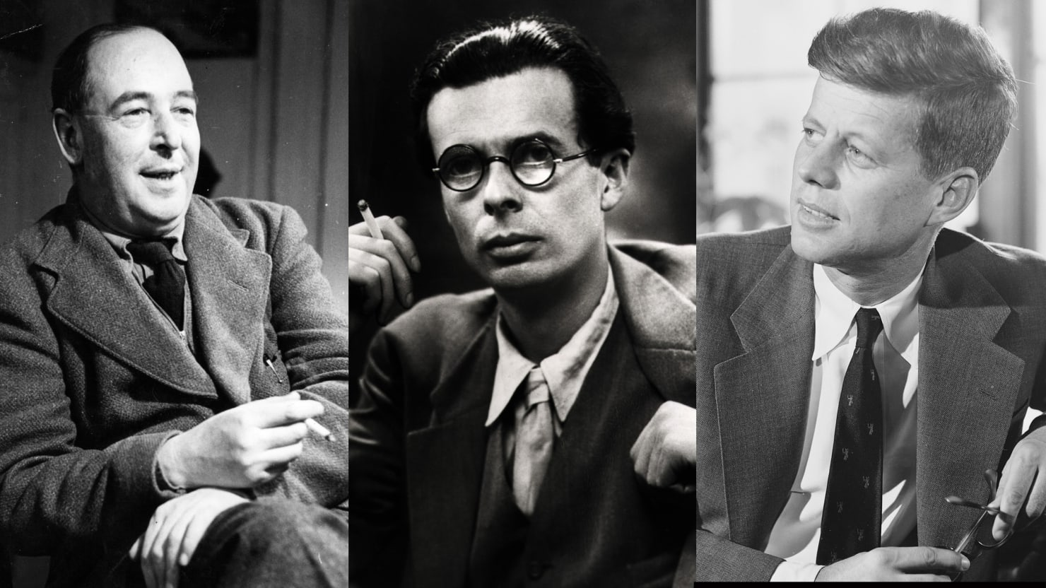 three great men died that day jfk c s lewis and aldous huxley