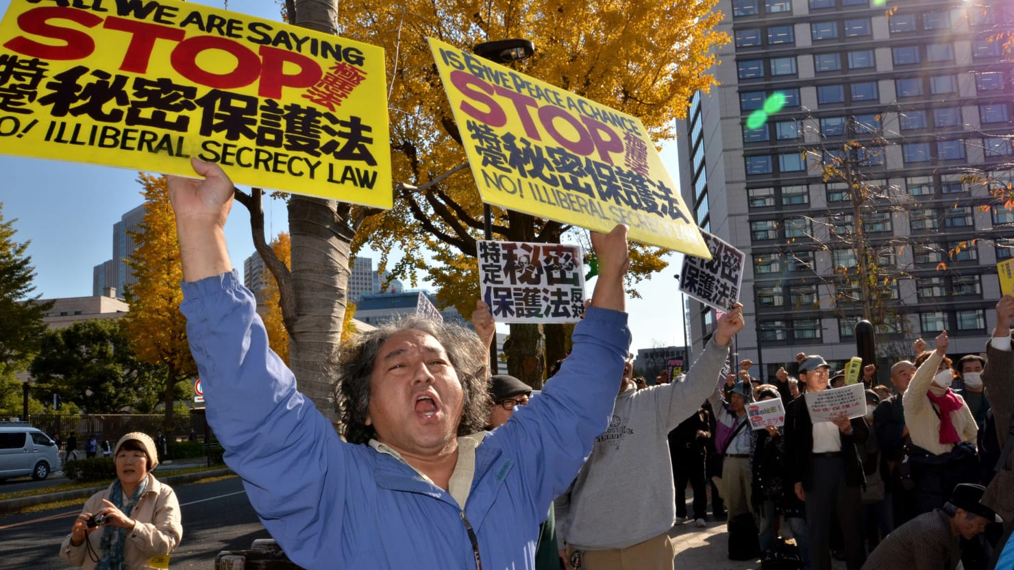 Japan's new Secrets Bill Threatens To Muzzle The Press and Whistleblowers