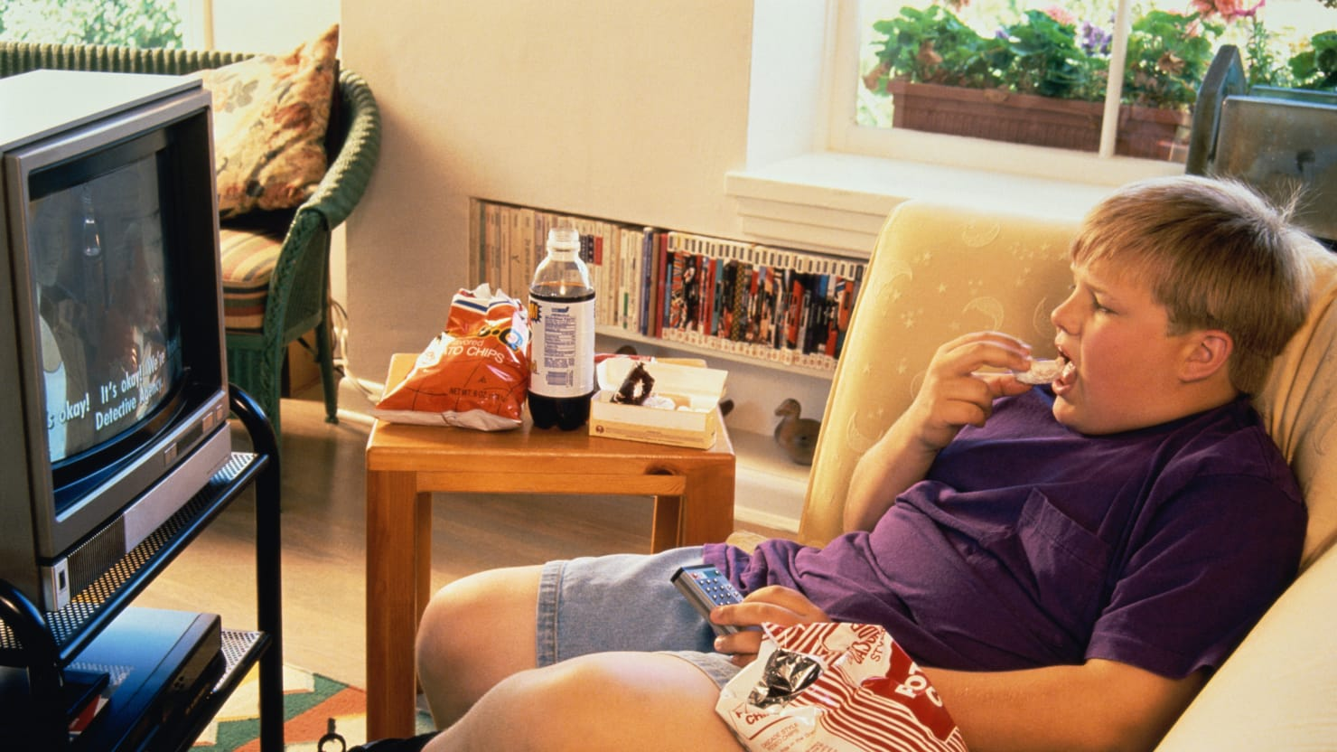 Fat Person On Couch