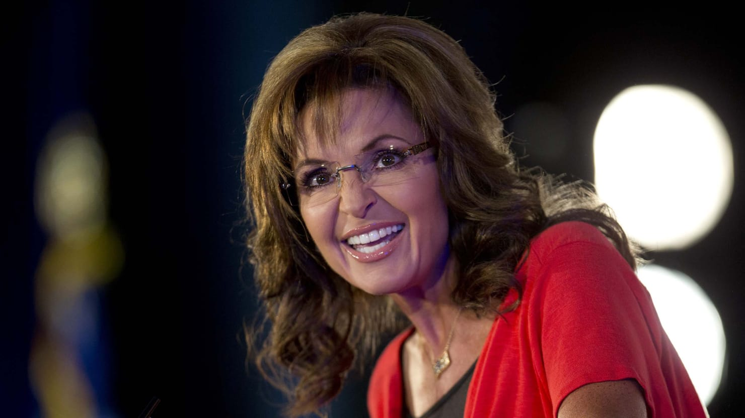 Sarah Palin Is Here to Save Christmas, Thank God