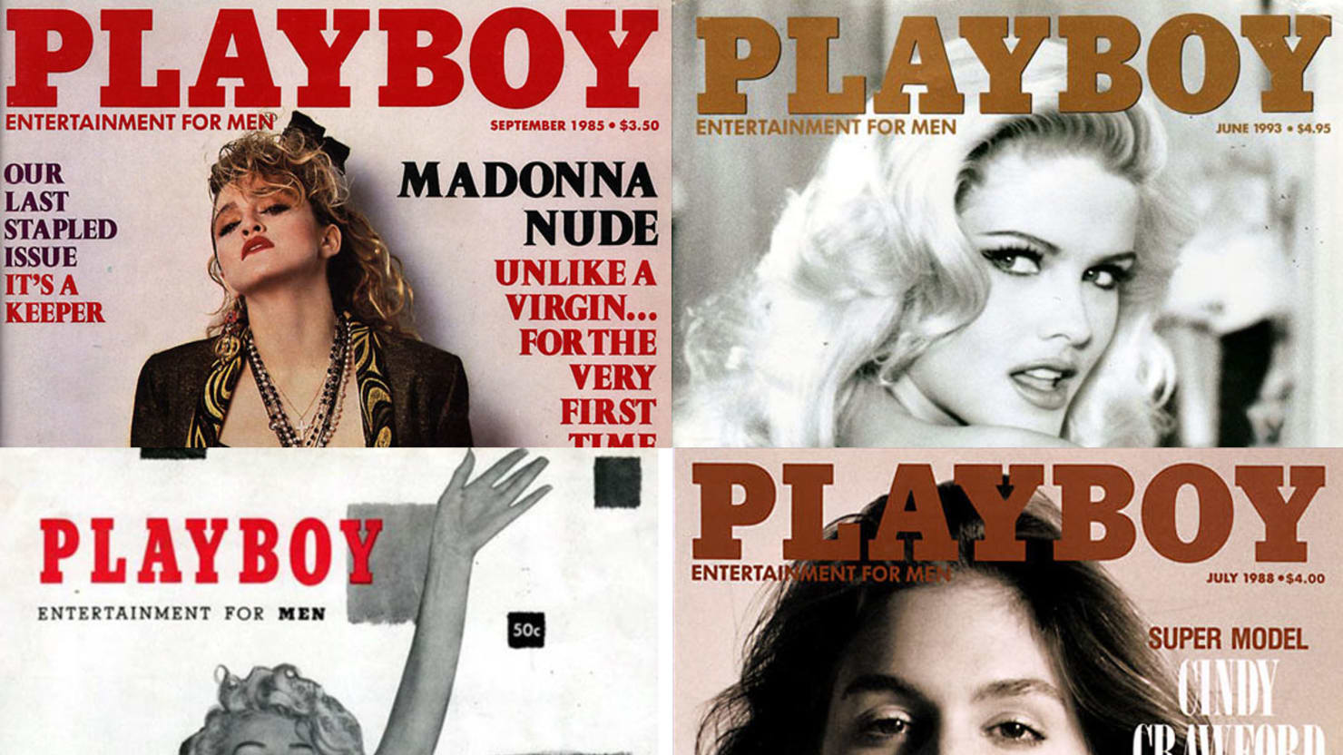 60 Years of Playboy: The Most Iconic Playboy Covers, From Marilyn Monroe to Kim Kardashian