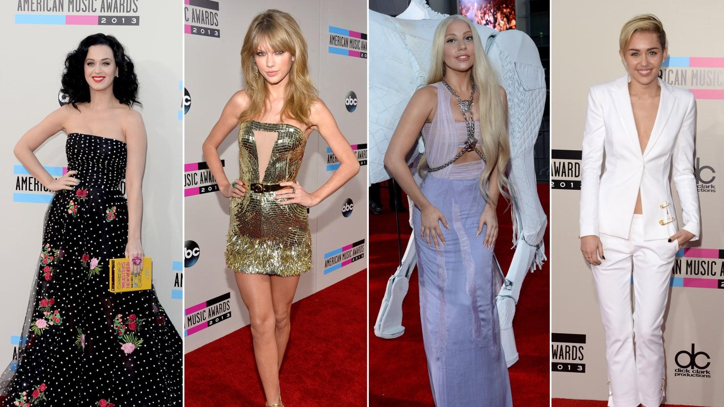 Best of AMA Red Carpet 2013