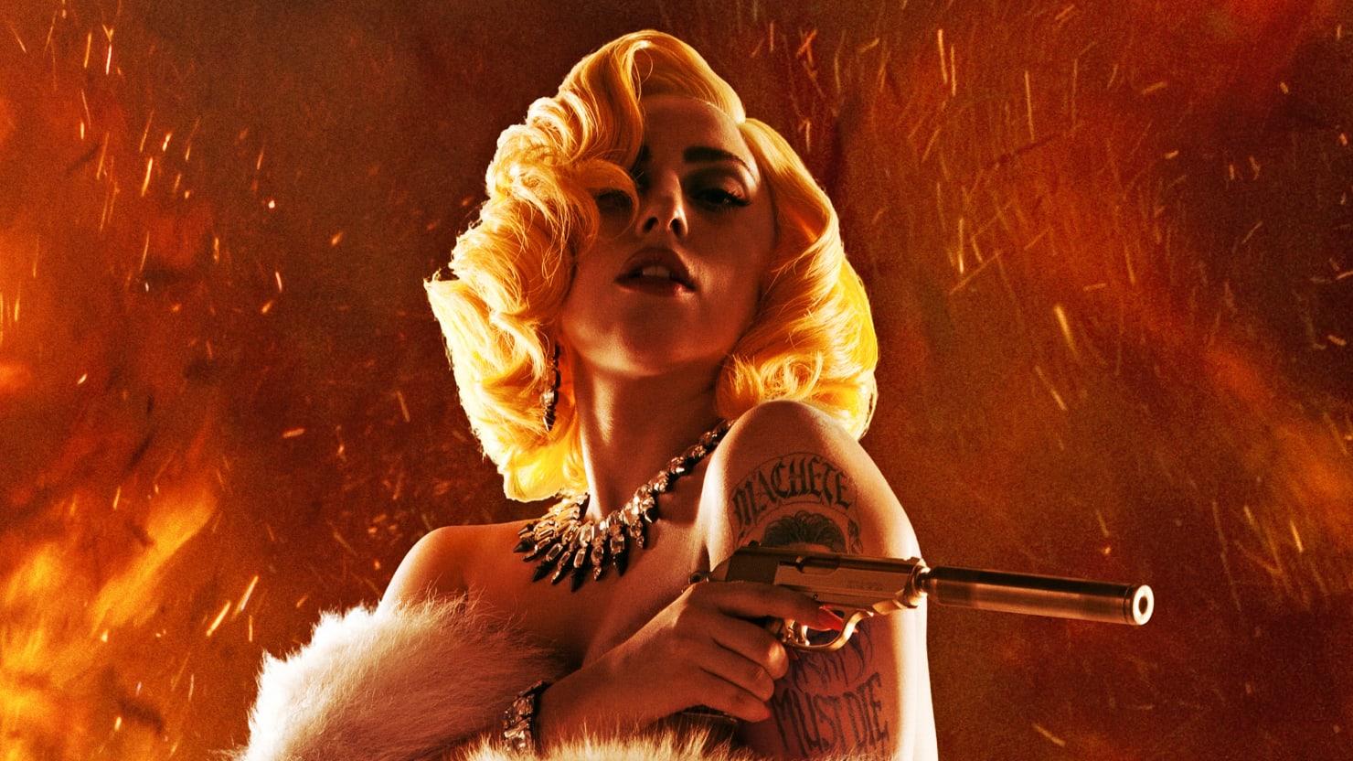 Lady Gaga's Kick-Ass Movie Debut As A Sexy Assassin In 'Machete Kills'
