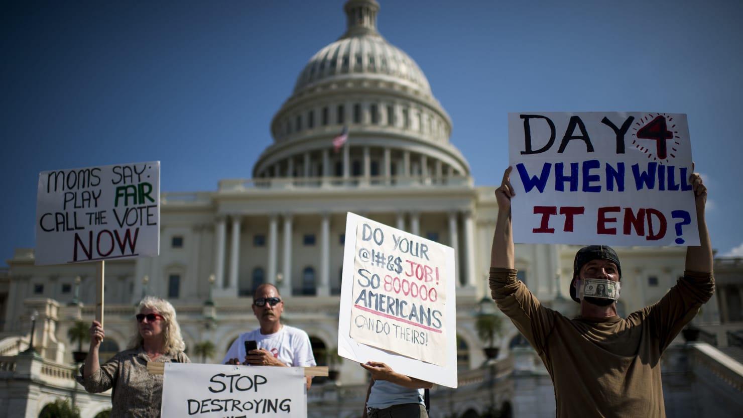 Who's Really 'Winning' the Government Shutdown Debate