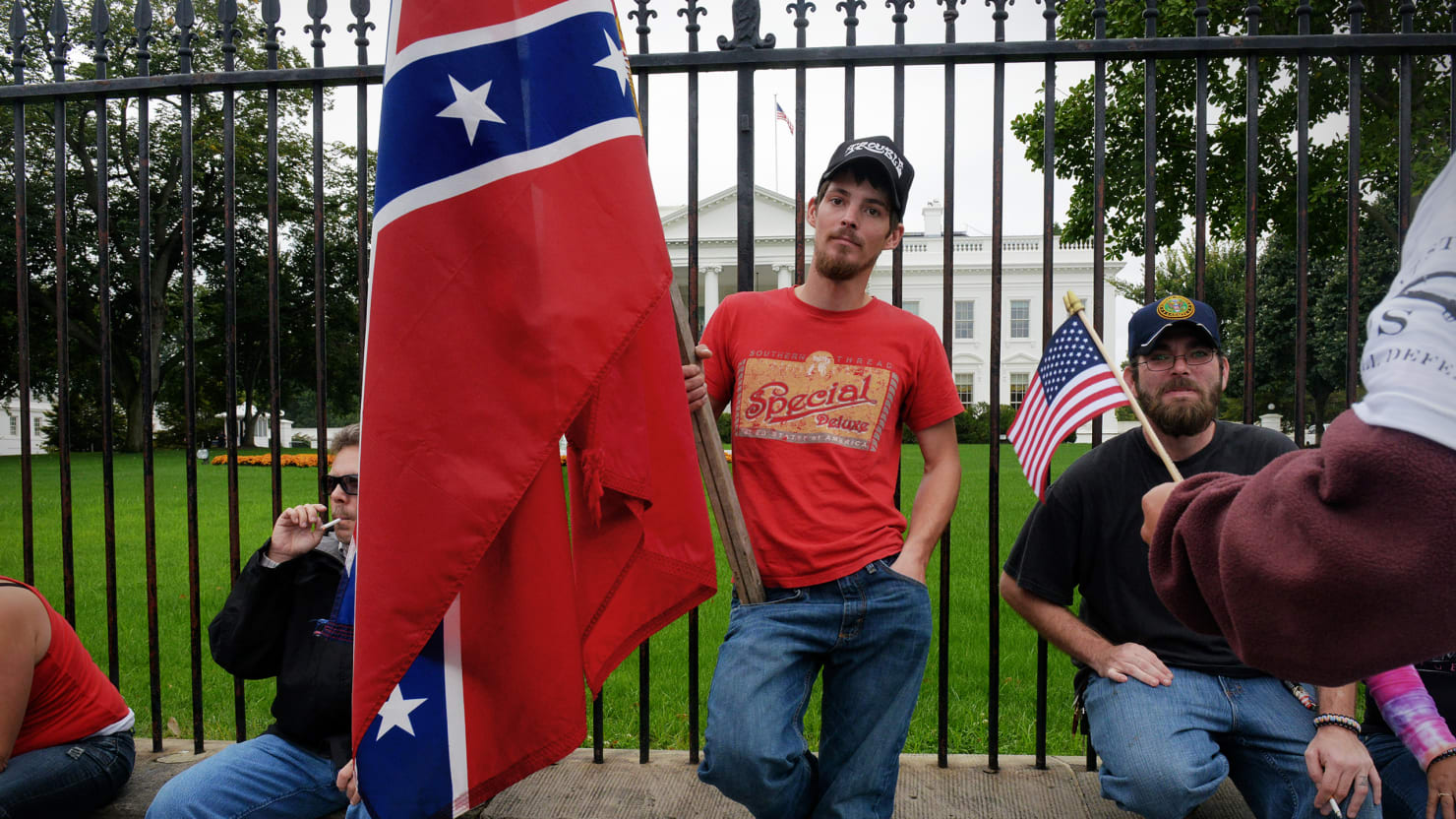 Ghosts of the Confederacy Out in Force as Fringe Rules GOP