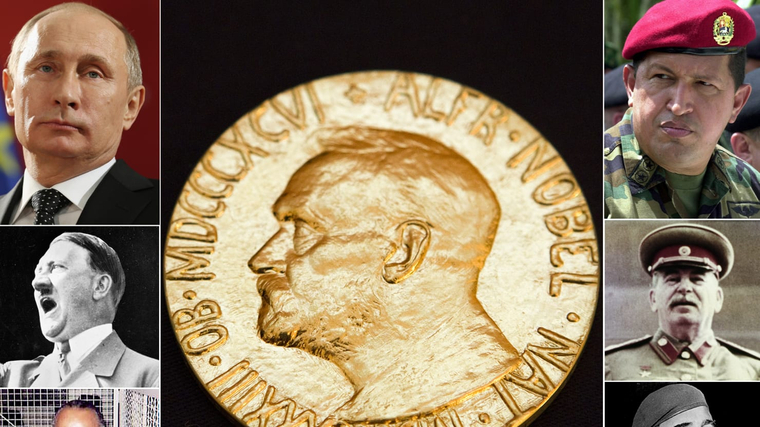 The World's Worst Nobel Peace Prize Nominees