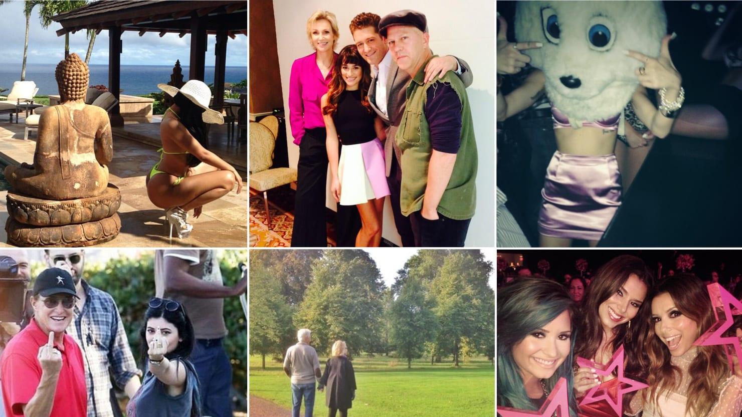 Lea Michele, Nicki Minaj & More Celebrity Twitter Pictures (PHOTOS)