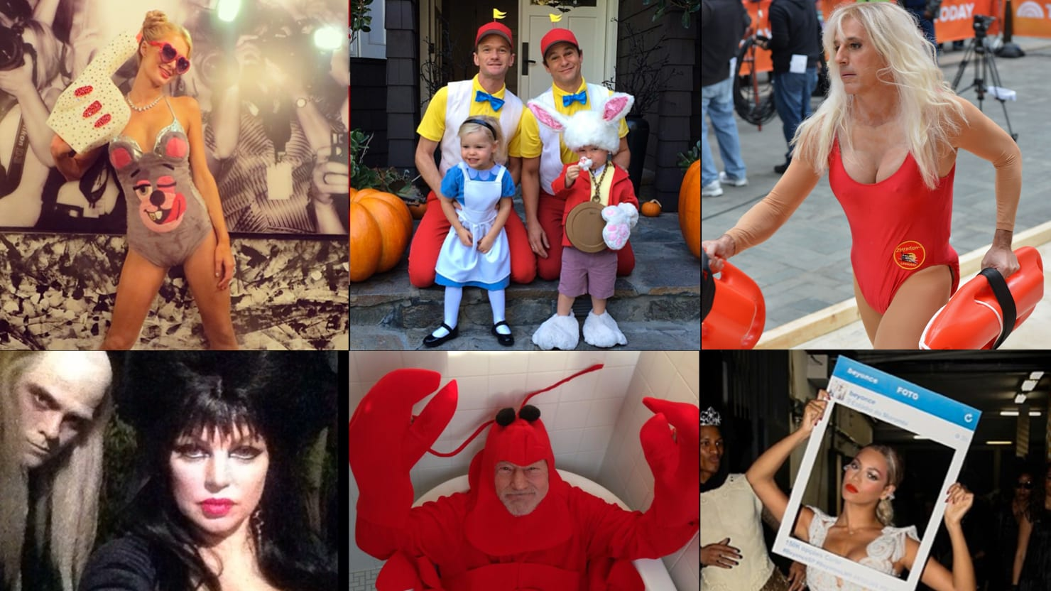 best and worst celebrity halloween costumes 2013: miley cyrus, kate