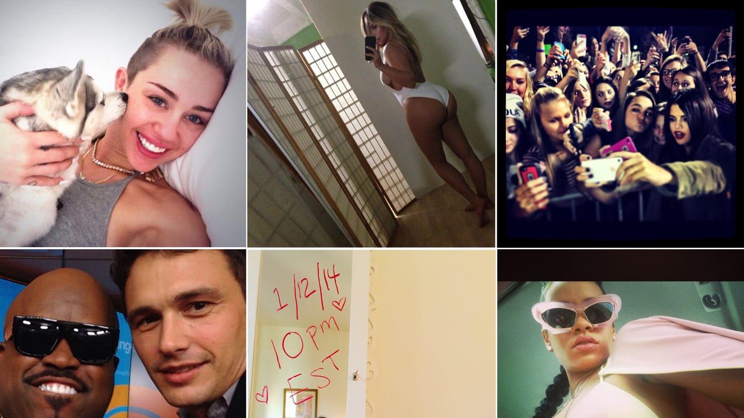 Nicki Minaj's Pasties, Kim Kardashian's Butt, and the Week in Selfies (PHOTOS)
