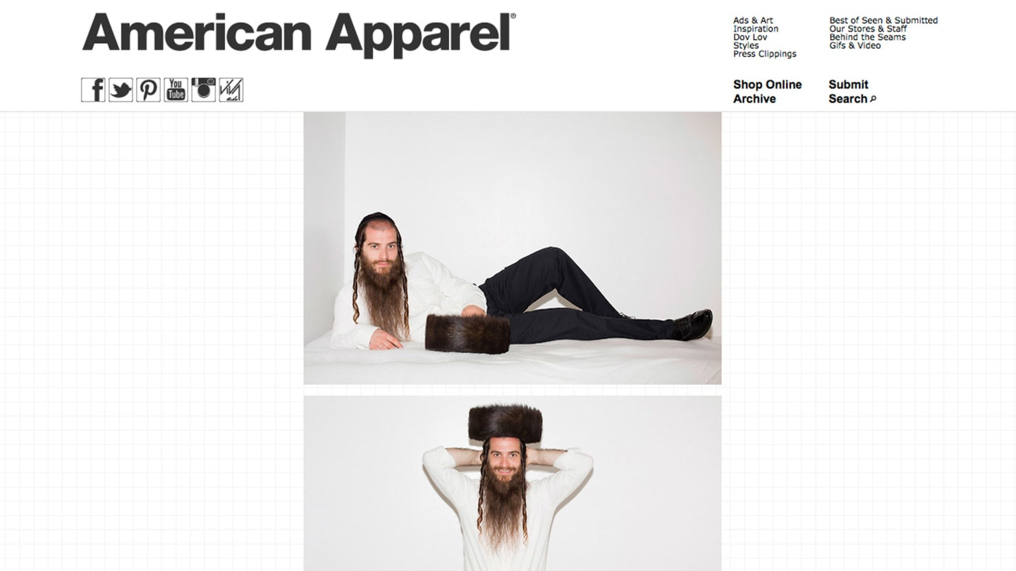 The most scandalous advertising American Apparel