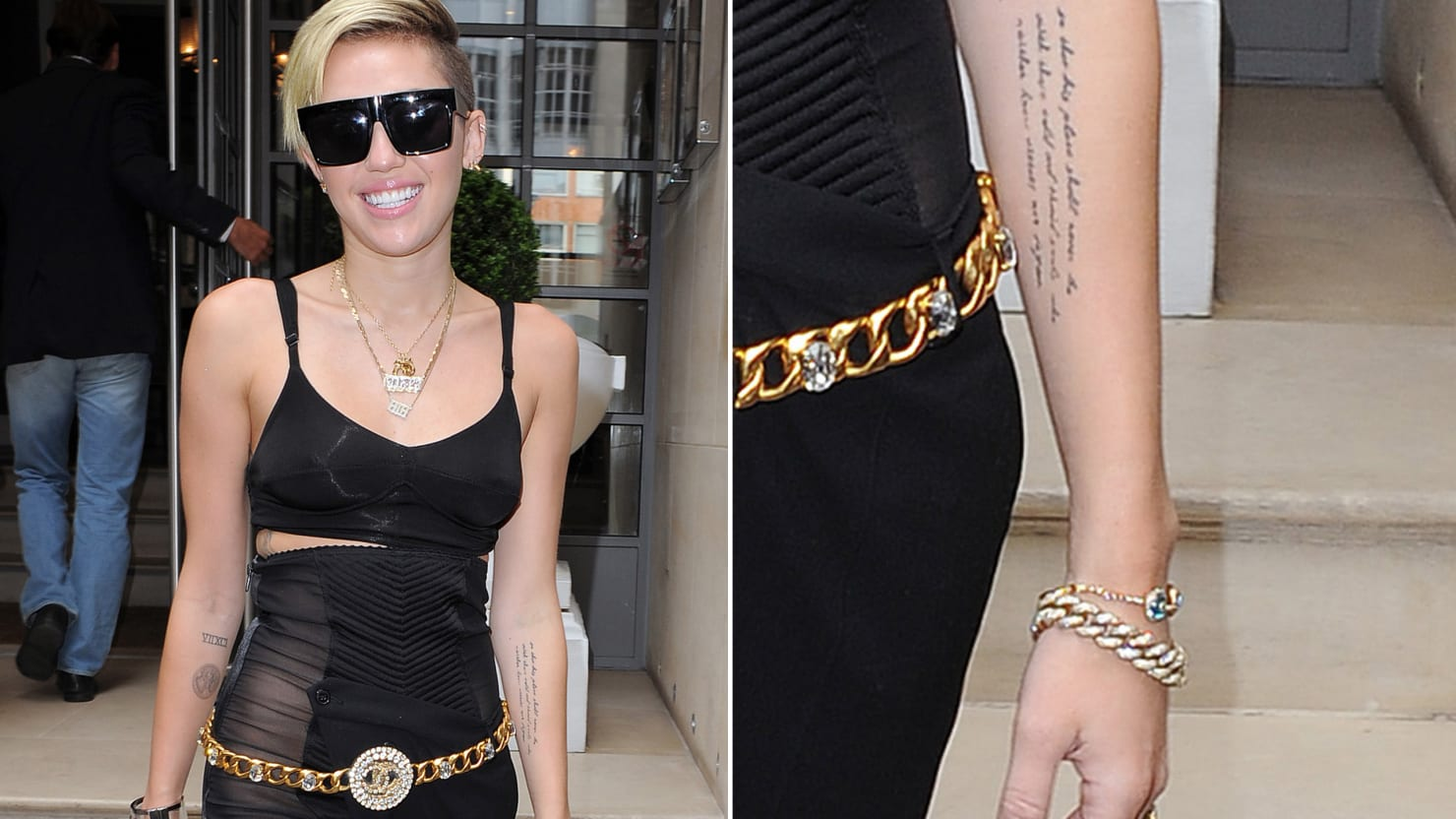 Miley Cyrus's Smartest Tattoo