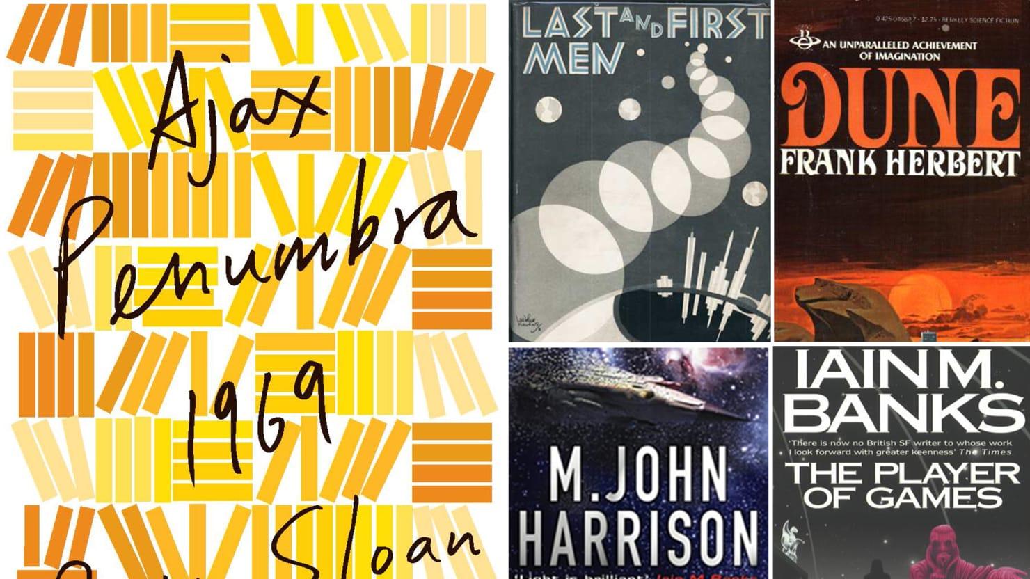 Robin Sloan's Book Bag: Five Science Fiction Books That Matter