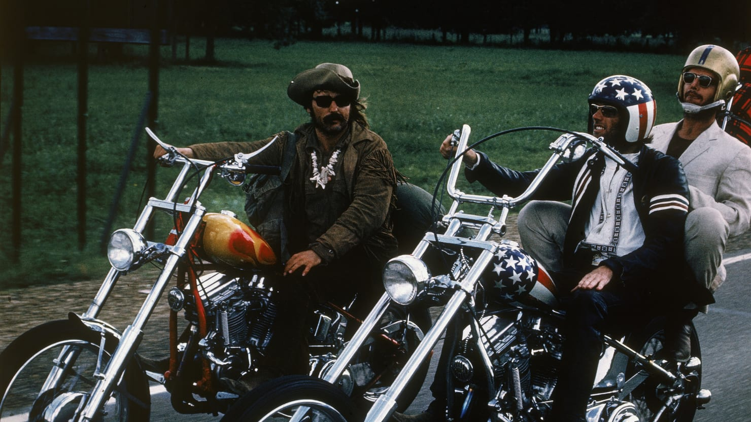 Choppers, Road Hogs and Bikes: Vintage Photos of Motorcycles on the Road