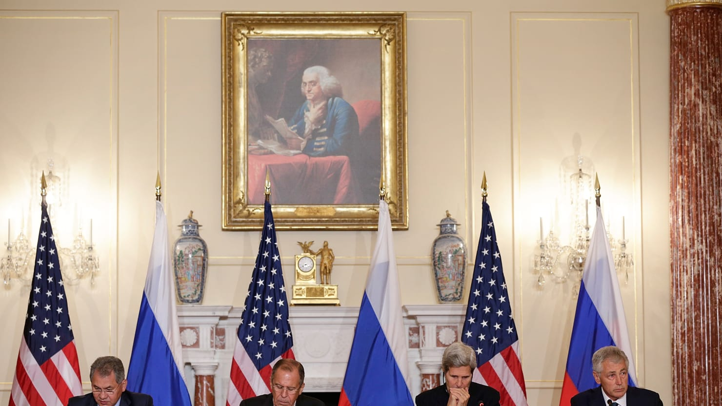 Snowden Who? U.S. and Russian Officials Say NSA Leaker Not Part of '2+2' Meetings
