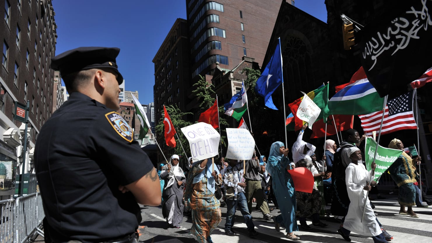 Hey NYPD, Being Muslim Isn't a Crime