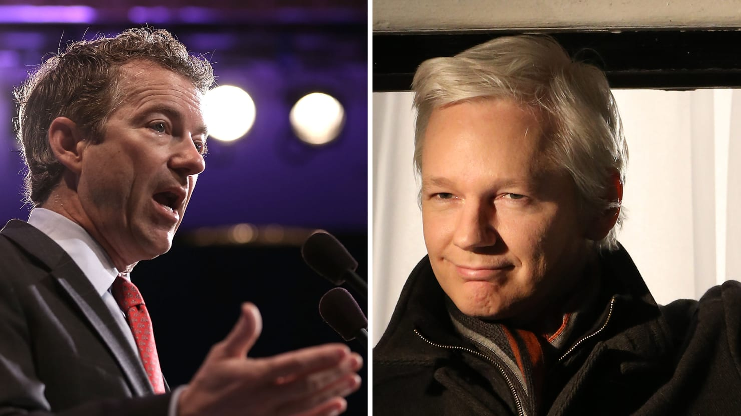 Julian Assange Loves Rand Paul and His 'Very Principled Positions'