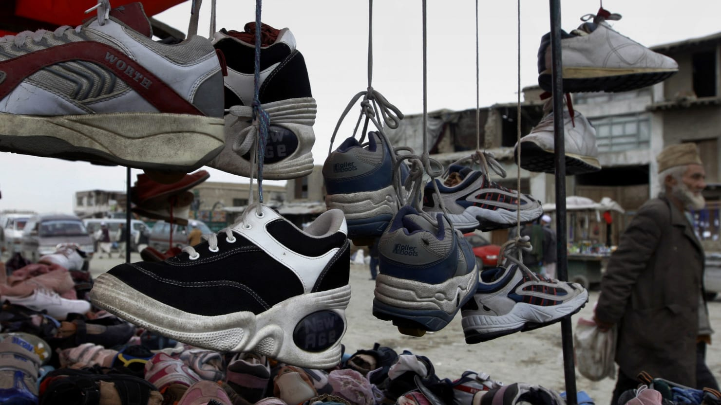 Why People Throw Shoes in Afghanistan