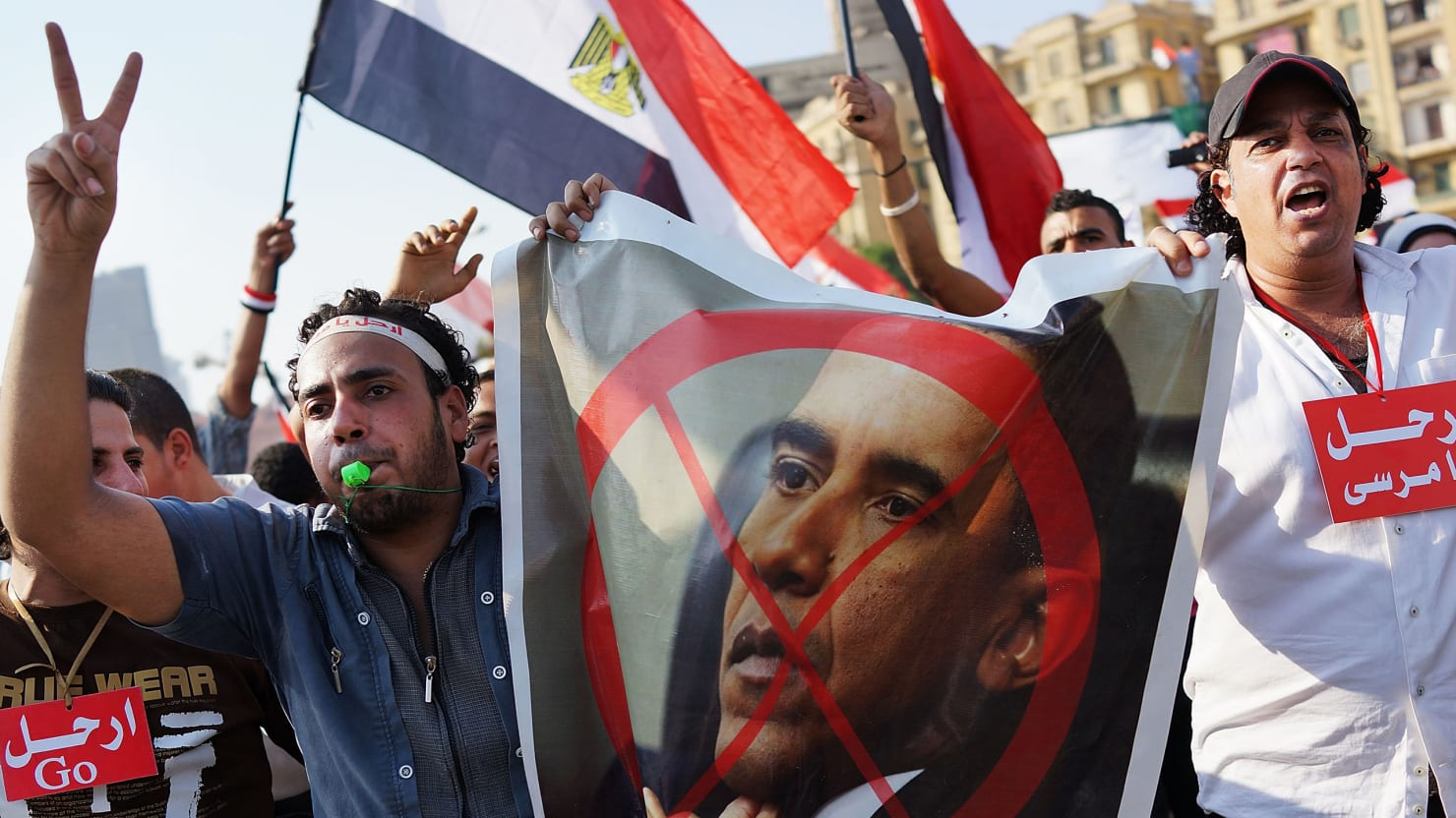 How Obama Lost His Influence in Egypt