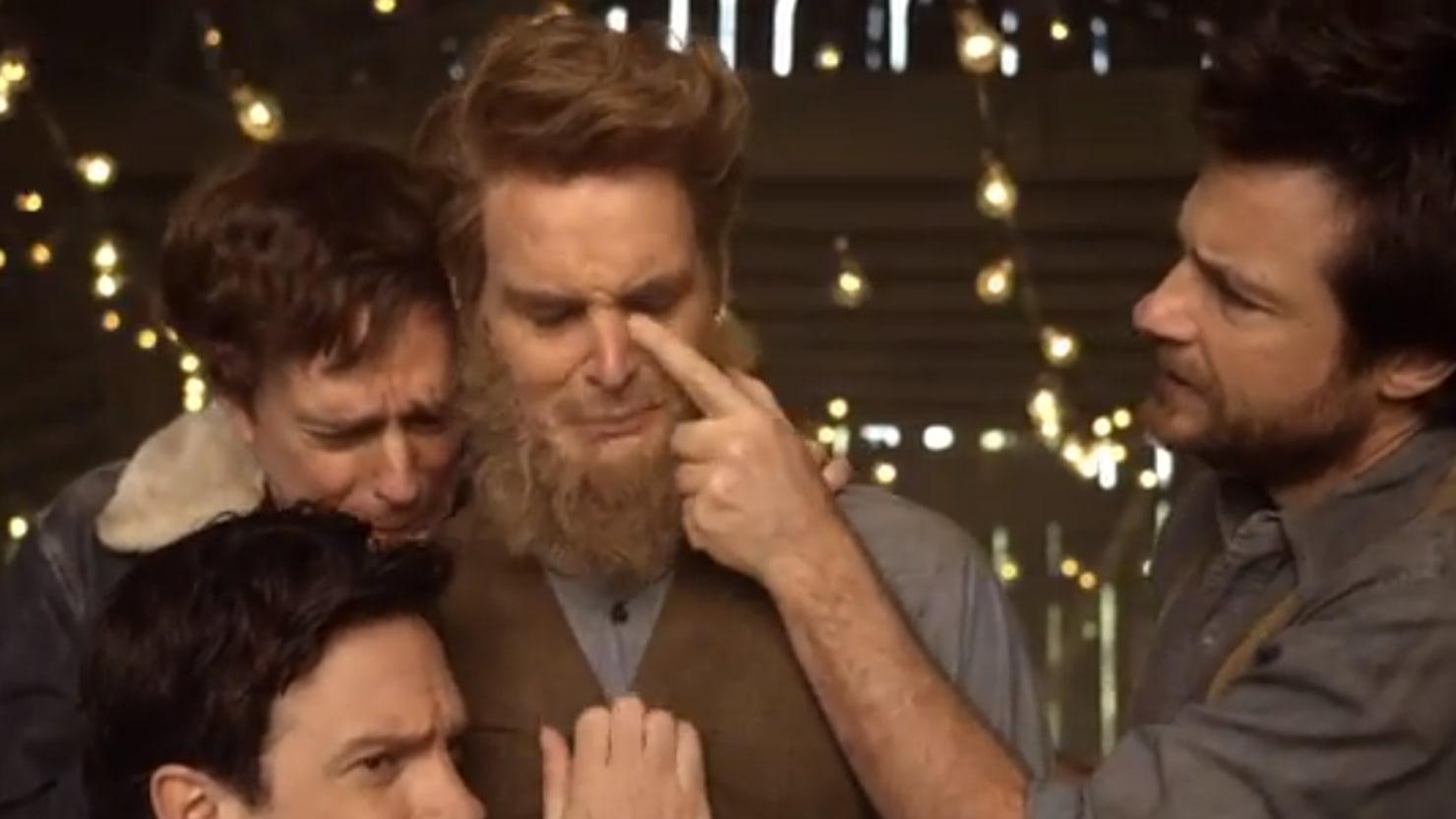 Mumford & Sons' Hilarious Parody Video, Feat. Jason Sudeikis, Jason Bateman, More