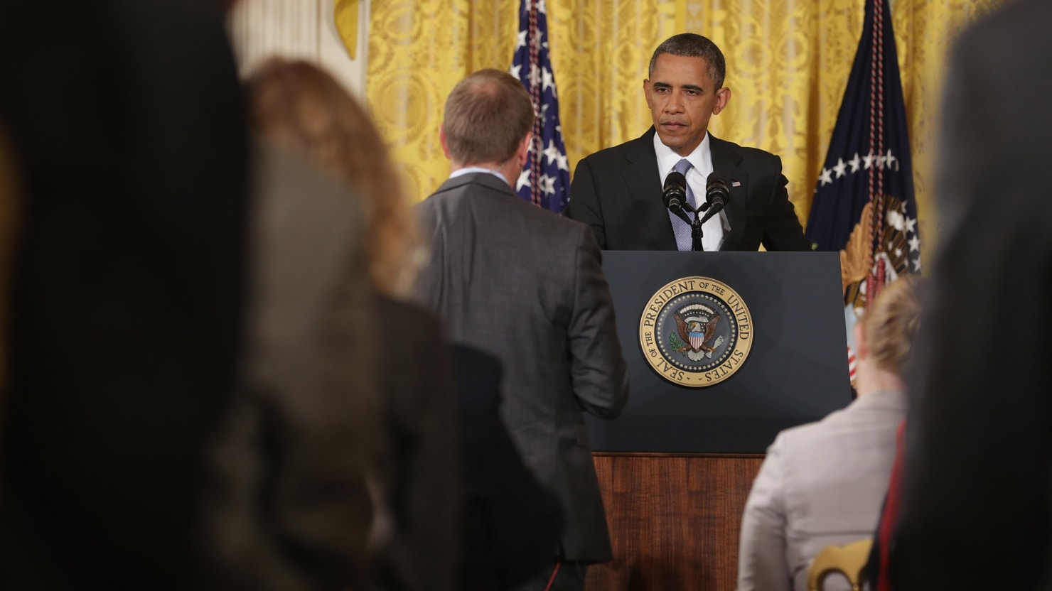 At the Obama White House: Transparency Transhmarency