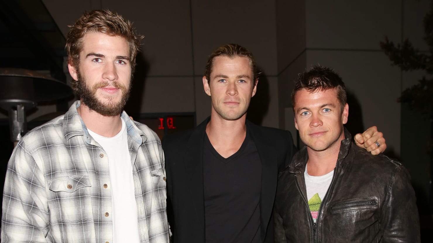 Luke Chris And Liam Your Guide To The Fabulous Hemsworth
