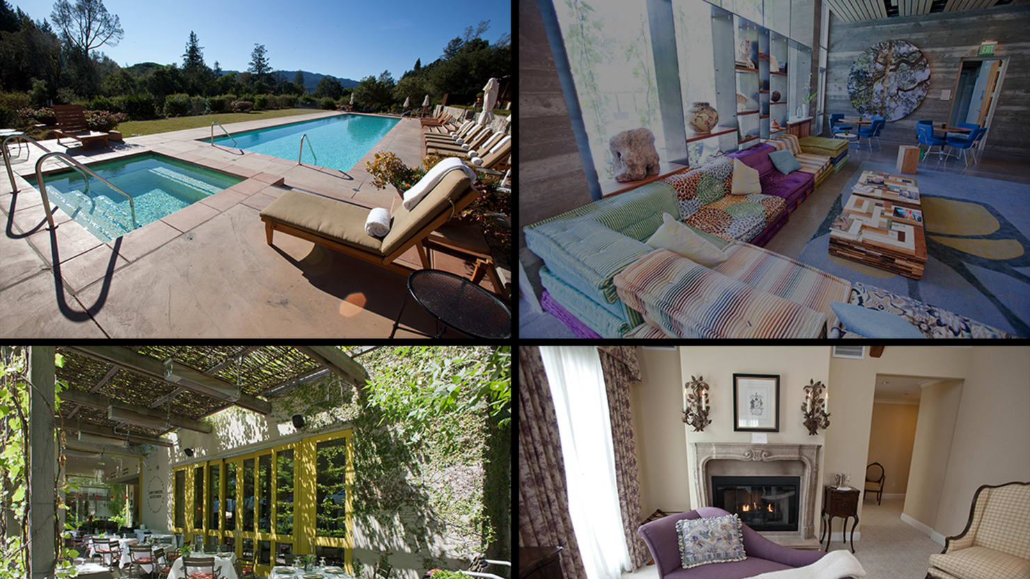 Nine Luxury Retreats in California Wine Country (Photos)