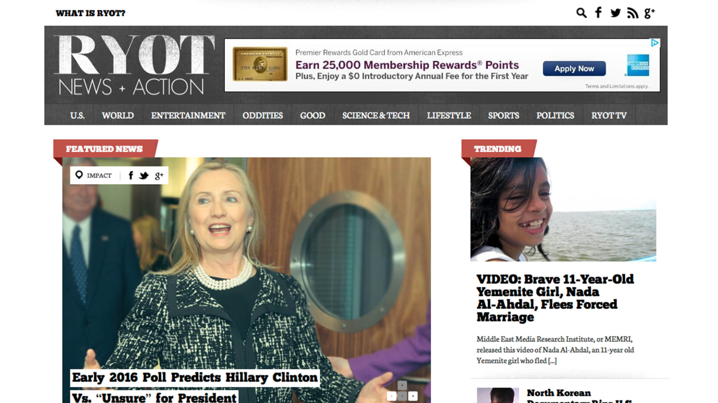 New Site RYOT Combines Breaking News With Activism