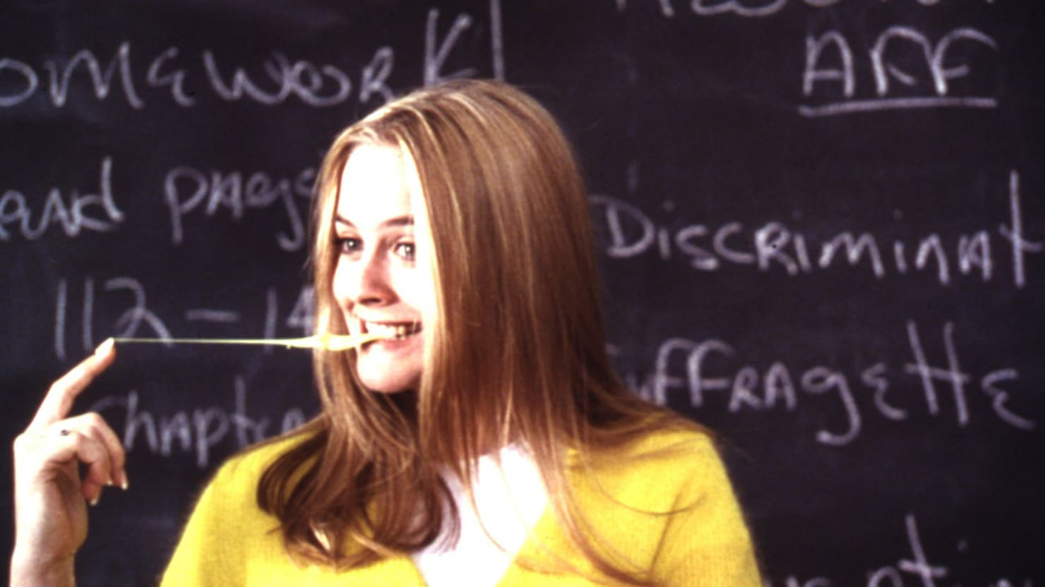 'Clueless' Glossary: Buggin', Cake Boy, & More 90's Slang From the Film