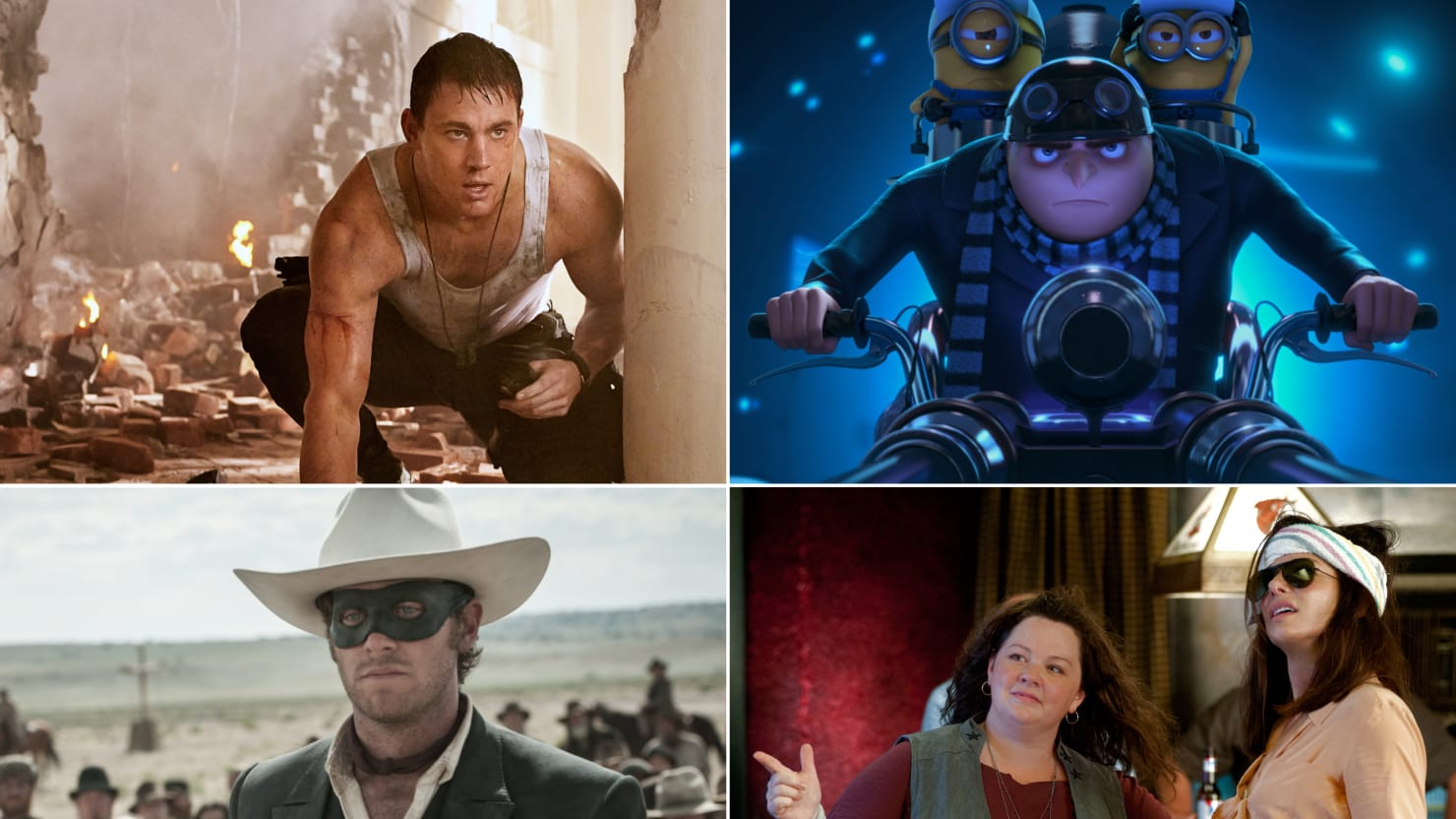 'The Lone Ranger,' 'The Heat' & More Movies to See or Skip July 4