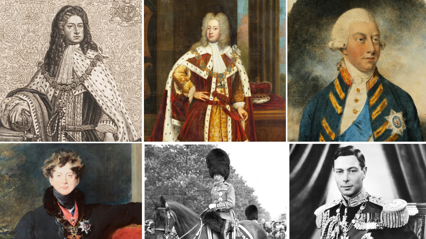 Meet England's Six King Georges (PHOTOS)