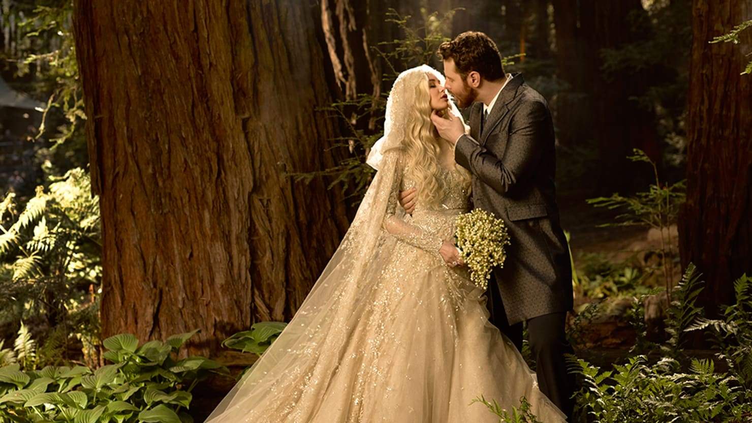 Sean Parker Weds Alexandra Lenas Game Of Thrones Theme A Mystery