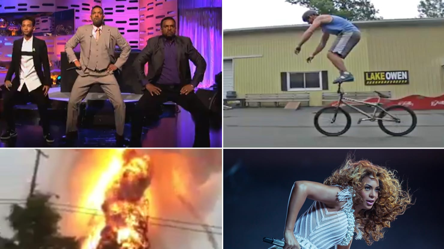 Beyoncé, Jimmy Fallon, Will and Jaden Smith, and More Viral Videos