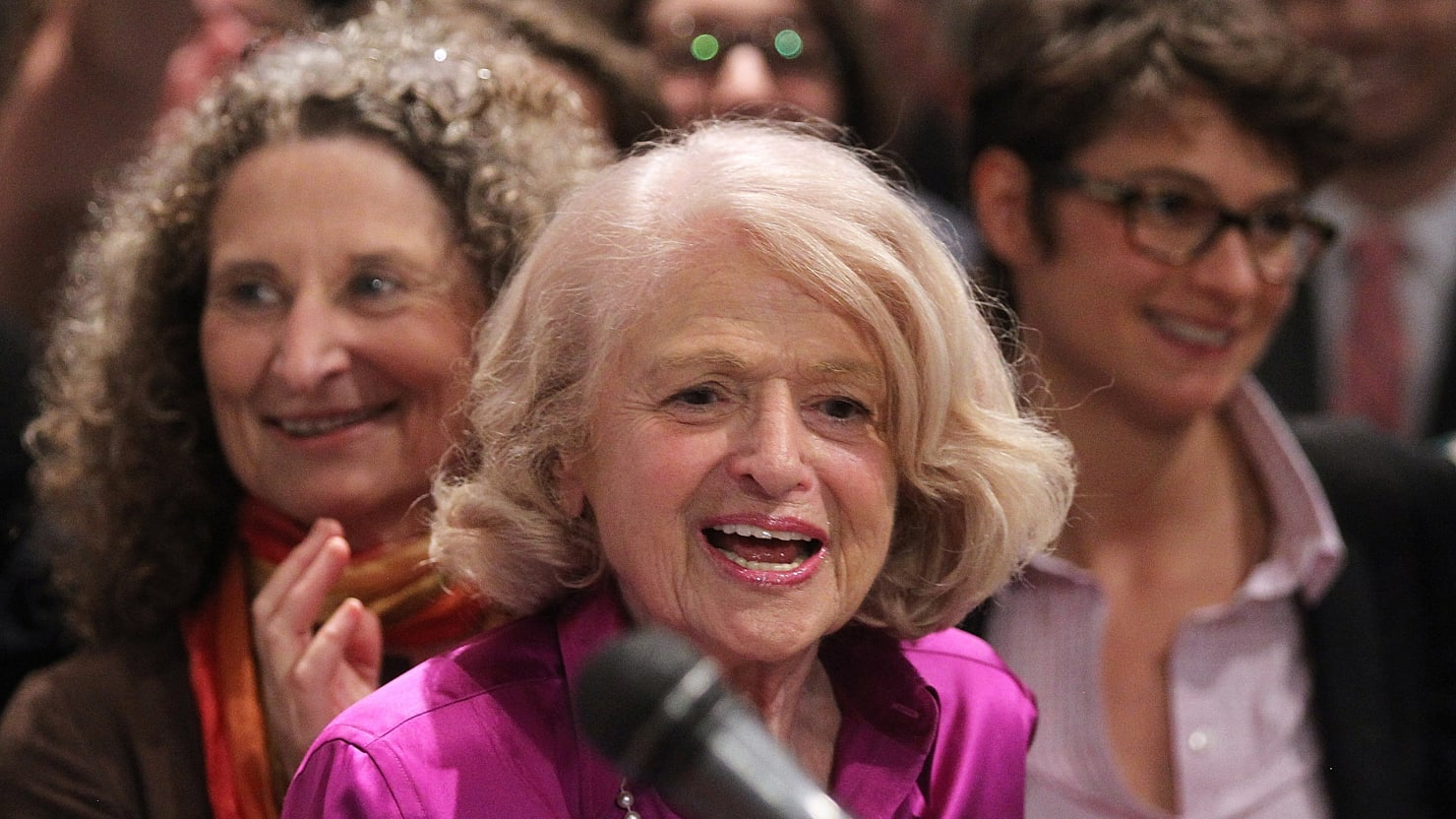 Edie Windsor On Love, and More Scenes from a (Gay) Marriage