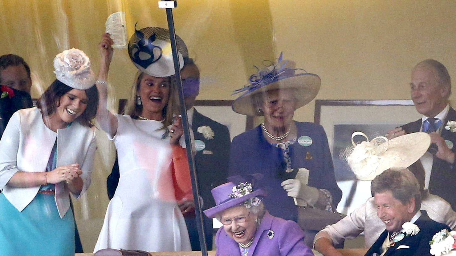 Queen Goes Nuts (For Her) As Horse Wins Gold Cup