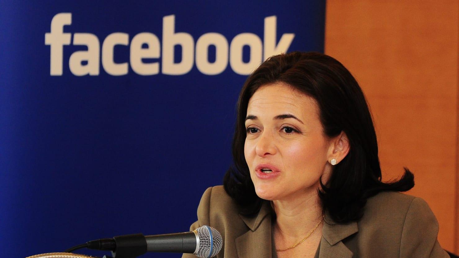 Image result for Facebook COO Sheryl Sandberg, photos