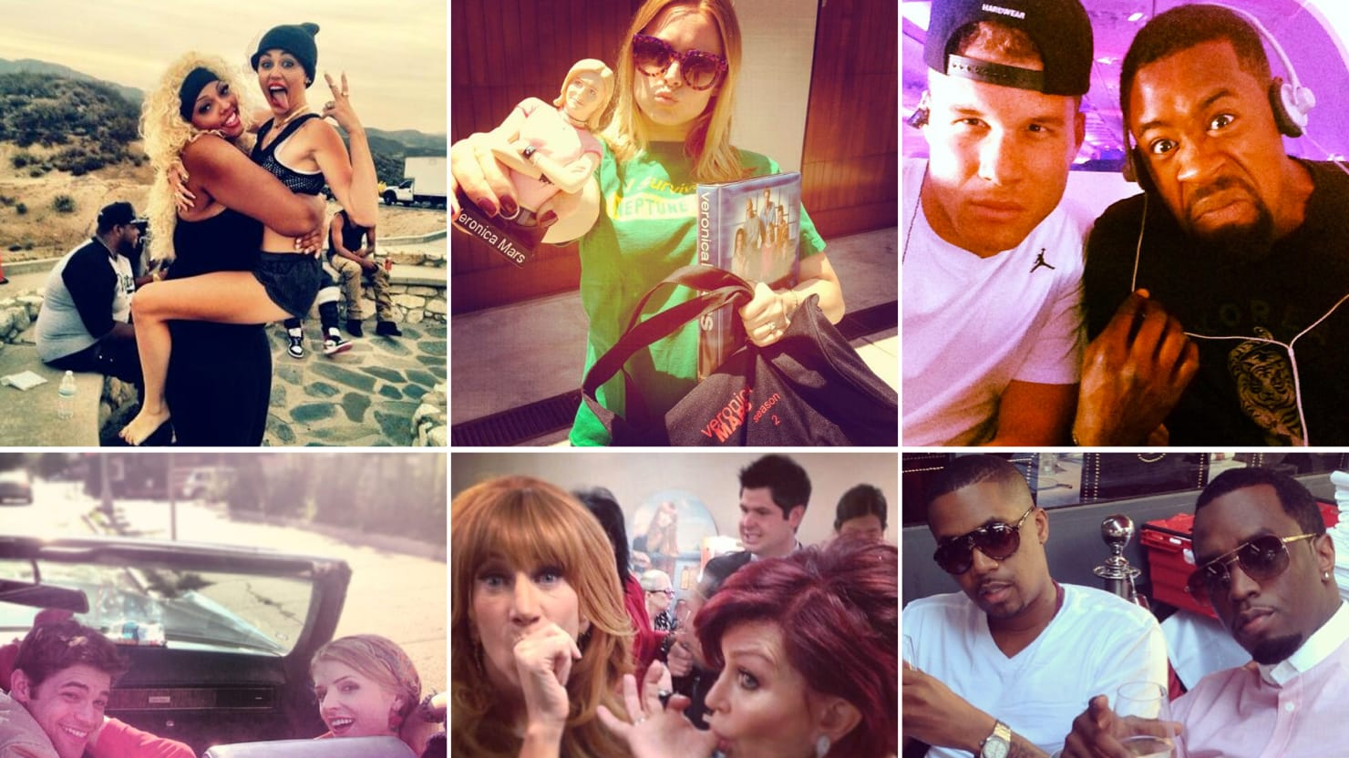 Miley Cyrus, Shakira, and More Celebrity Twitter Pictures (PHOTOS)