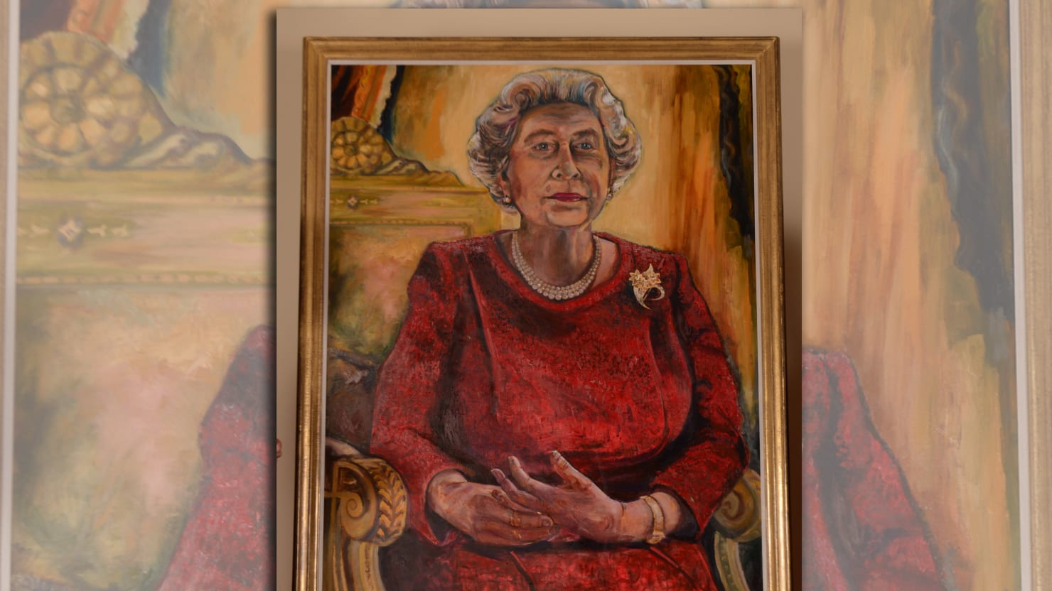 Another New and Hideous Portrait of The Queen