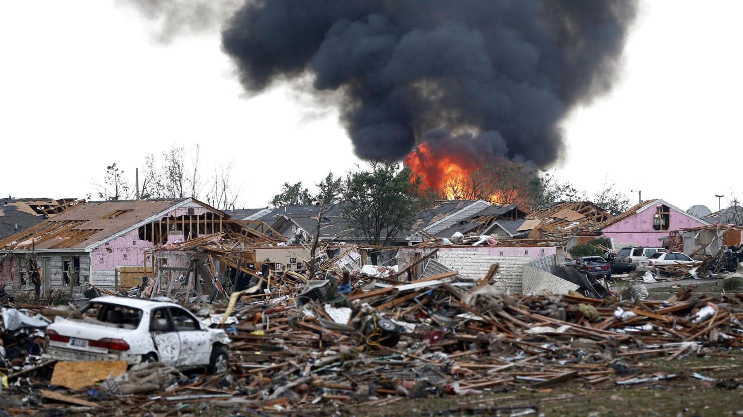 Moore, Oklahoma, May Be the Tornado Capital of America