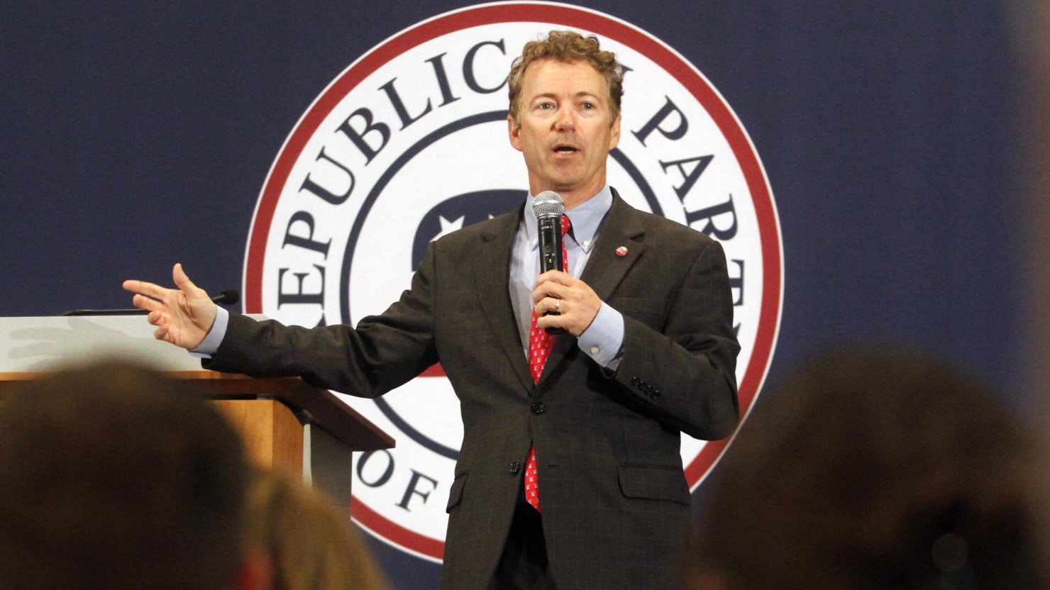 Rand Paul Plays the Maverick at CPAC and the Evangelical in Cedar Rapids