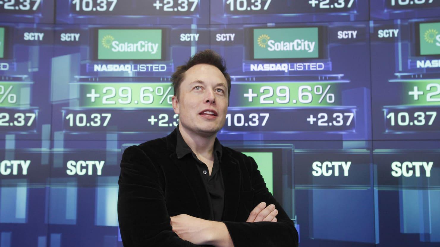 Elon Musk-Backed SolarCity Thrives in Solar Power Sector