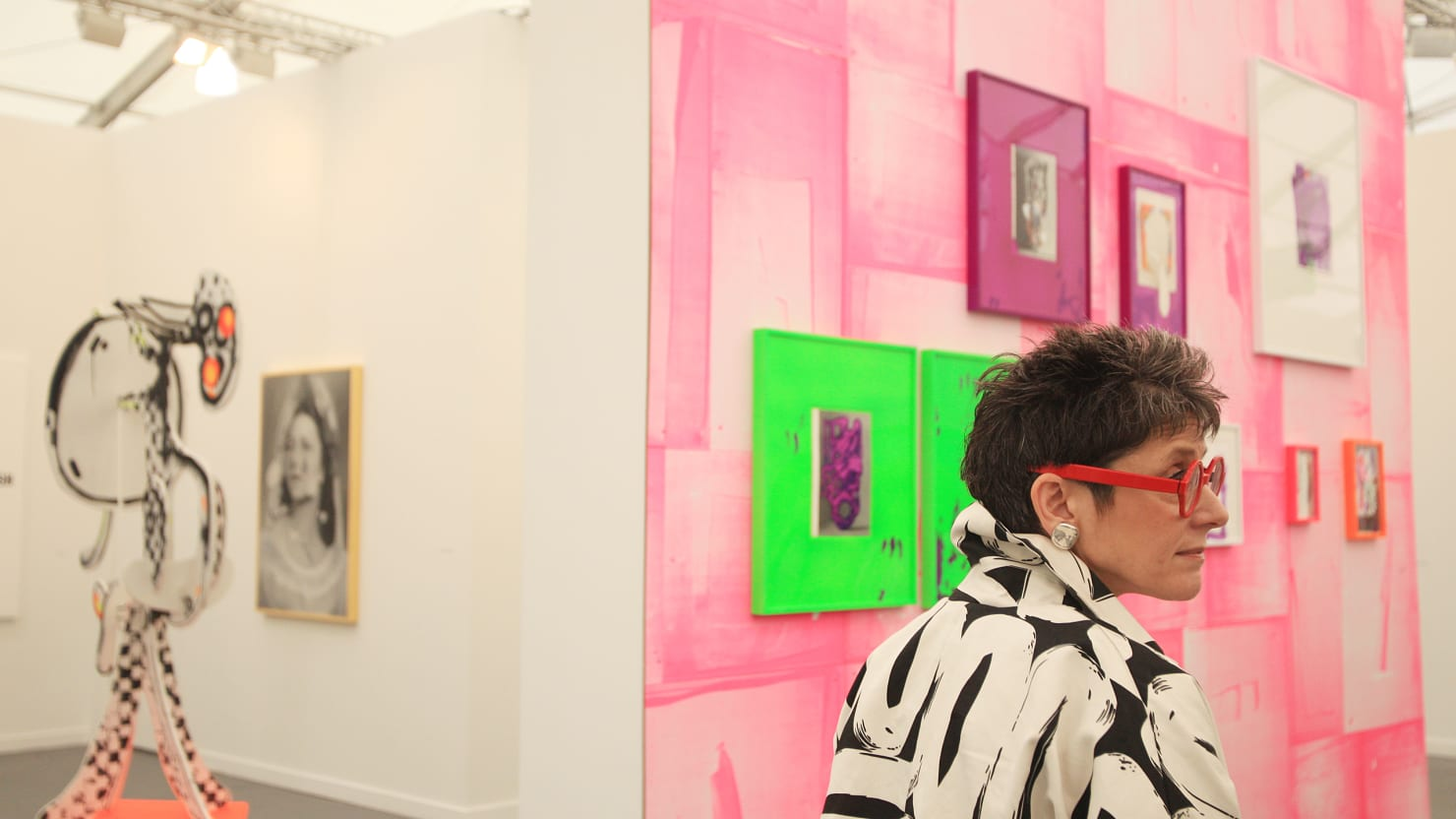 Scenes From Frieze Art Fair New York 2013