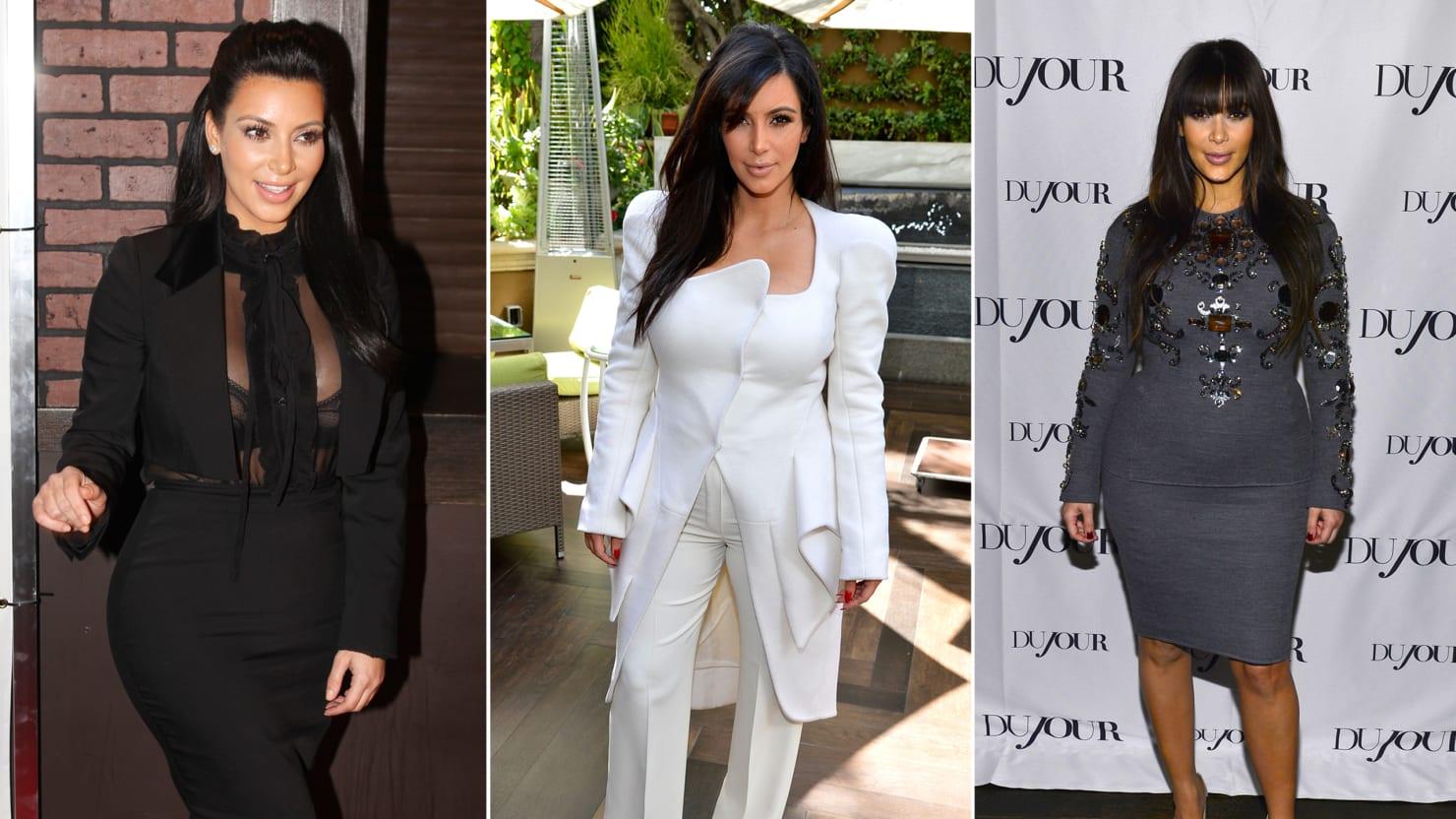 A Brief History Of Kim Kardashian S Pregnancy Style Photos